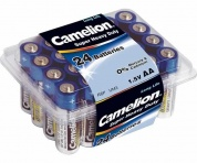 Батарейка CAMELION, Super Heavy Duty, R6P-BP24B, тип АА, 1.5V (коробка - 24 шт)