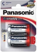 Батарейка Panasonic, Everyday Power, LR14EPS/2BP тип C, 1.5V (блистер - 2 шт)