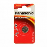 Батарейка Panasonic, LITHIUM Power, CR-1616EL/1B, 3V (блистер - 1 шт)