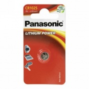 Батарейка Panasonic, LITHIUM Power, CR-1025AL/1B, 3V  (блистер - 1 шт)