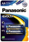 Батарейка Panasonic, EVOLTA, LR6EGE/2BP тип АА, 1.5V (блистер - 2 шт)