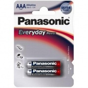 Батарейка Panasonic, Everyday Power, LR03EPS/2BP тип AAA, 1.5V (блистер - 2 шт)