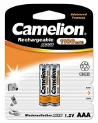 Аккумулятор CAMELION, Lockbox Rechargeable, NH-AAA1100BP2, тип AAA, 1.2V, 1100 mAh (блистер -2 шт.)