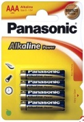 Батарейка Panasonic, Alkaline Power, LR03APB/4BP тип AAA, 1.5V (блистер - 4 шт)